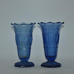 50 60年代琉璃花瓶一对