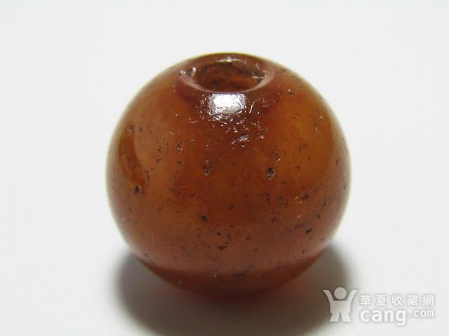 醇熟包浆 玛瑙 珠 风化清晰图4