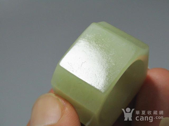 和田玉扳指包浆熟润 沁色自然图6