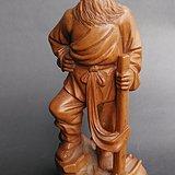 文革黄杨或龙眼雕件