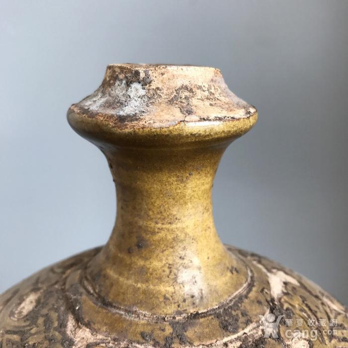 精品收藏级 耀州窑剔花牡丹瓶图12