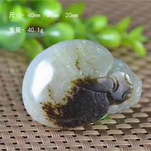 和田玉 籽玉 熟皮 龙龟  龙龟进宝