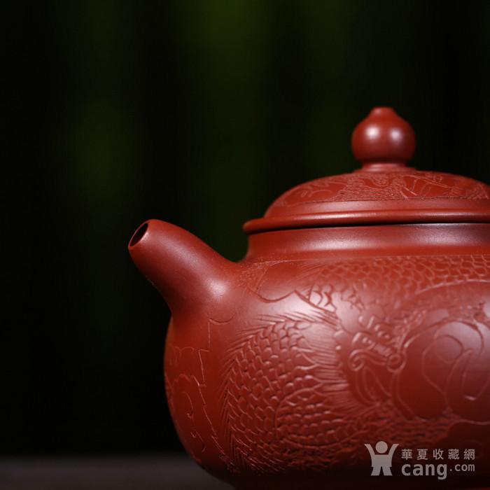 戴鹏飞朱泥大红袍盘龙掇支图5