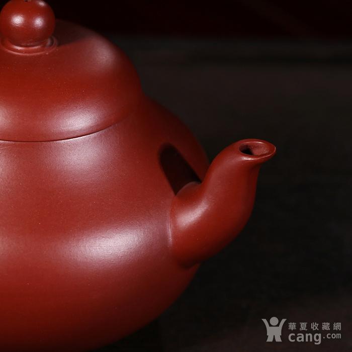 戴鹏飞朱泥大红袍梨形壶图3