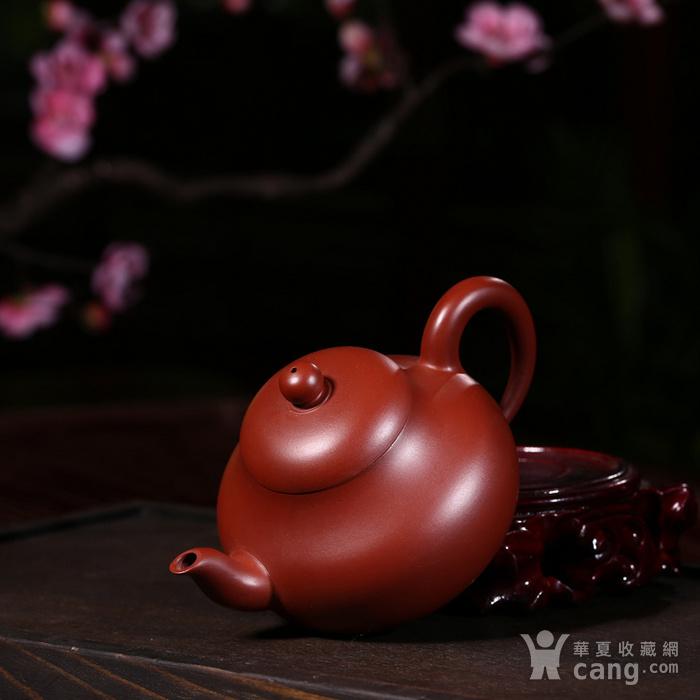 戴鹏飞朱泥大红袍梨形壶图7