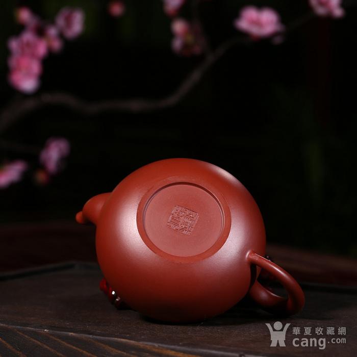戴鹏飞朱泥大红袍梨形壶图9