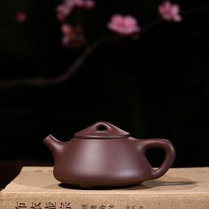 民间陶艺家紫泥石瓢