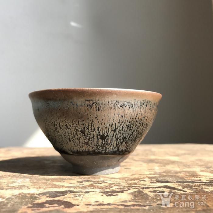 当代建窑大师手作茶盏一只图2