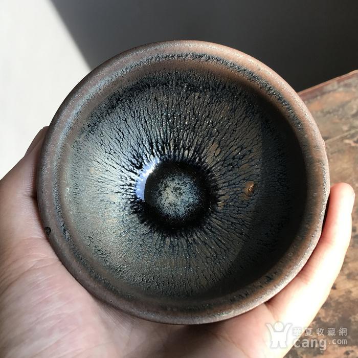 当代建窑大师手作茶盏一只图3