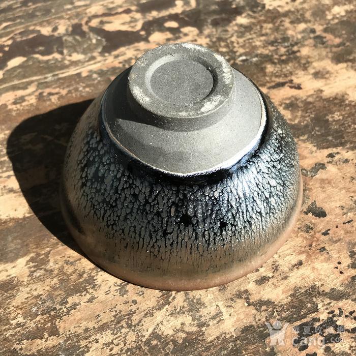 当代建窑大师手作茶盏一只图8