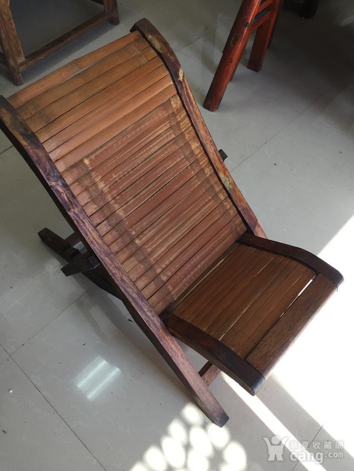 小人竹椅图1
