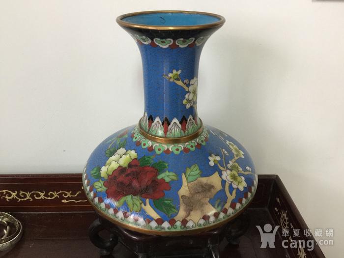 景泰蓝花瓶图1