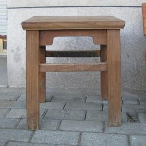 明式榉木方凳