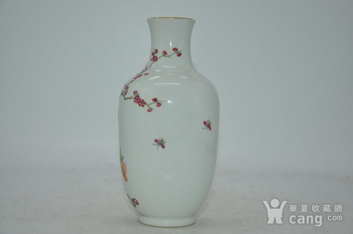 花鸟粉彩瓷瓶图2