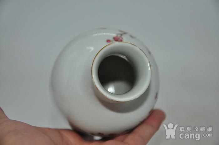 花鸟粉彩瓷瓶图10