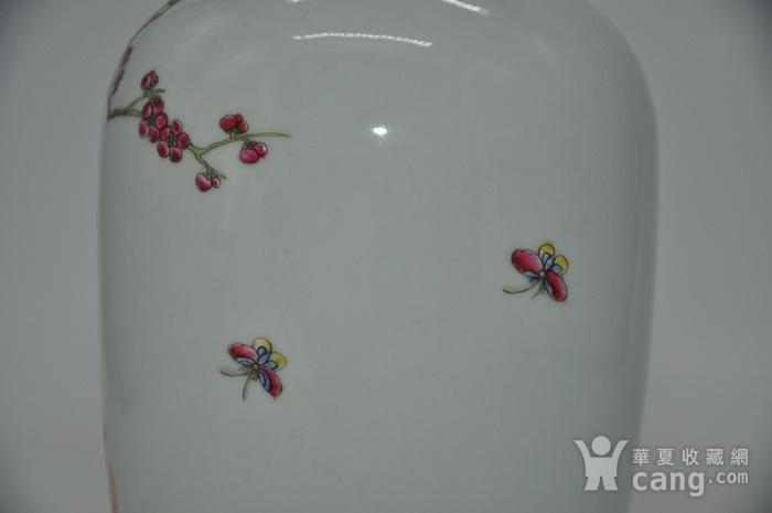 花鸟粉彩瓷瓶图8