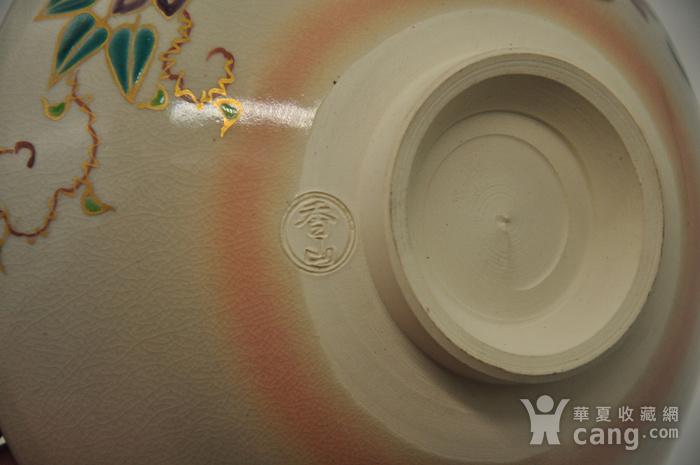 日本茶道瓷碗两个图12