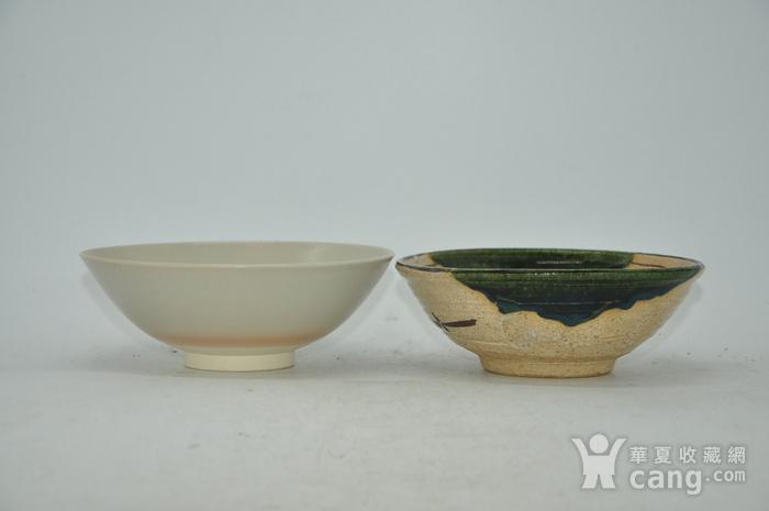 日本茶道瓷碗两个图7
