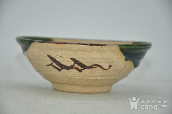 日本茶道瓷碗两个图2