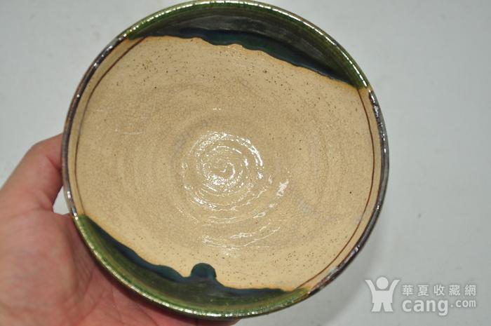 日本茶道瓷碗两个图3