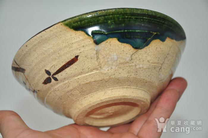 日本茶道瓷碗两个图5
