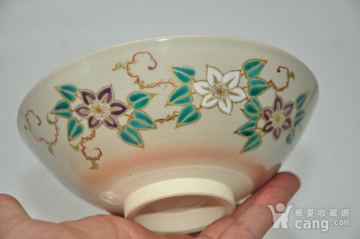 日本茶道瓷碗两个图10