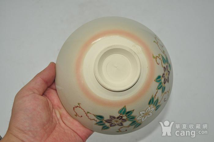 日本茶道瓷碗两个图11
