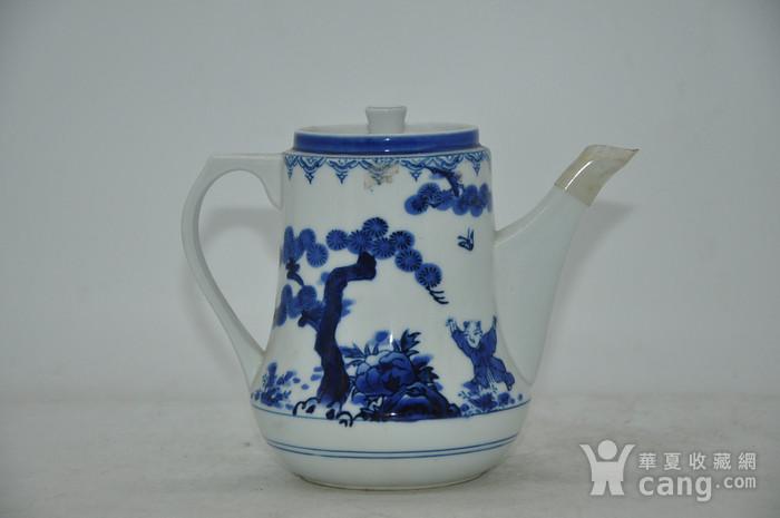 80 90年代青花瓷壶图2