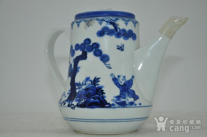 80 90年代青花瓷壶图4