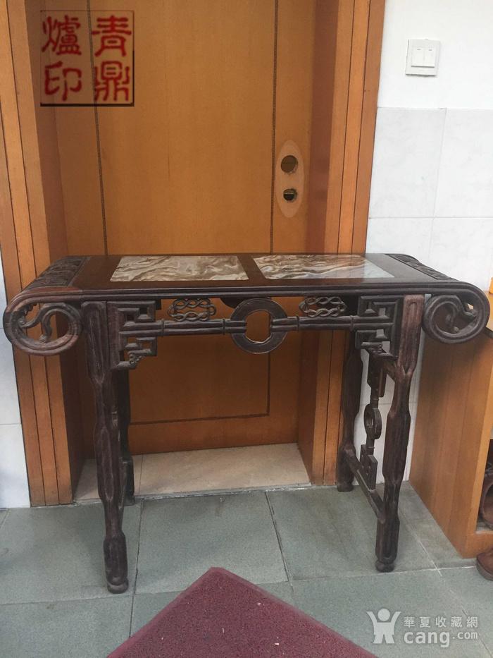 红木琴桌图1