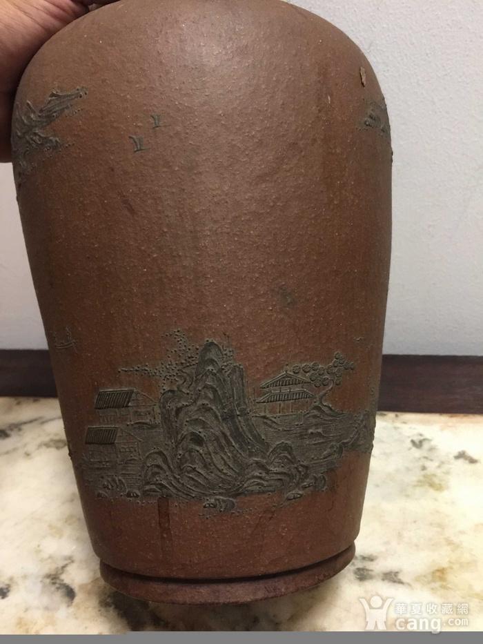 紫砂花瓶图5