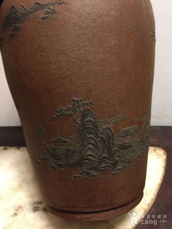 紫砂花瓶图7