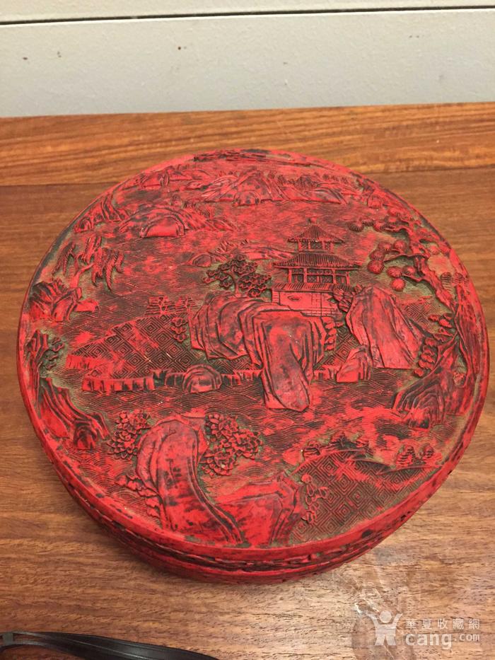 漆器盒碧玉板指五件套图1