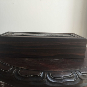 红木印章盒