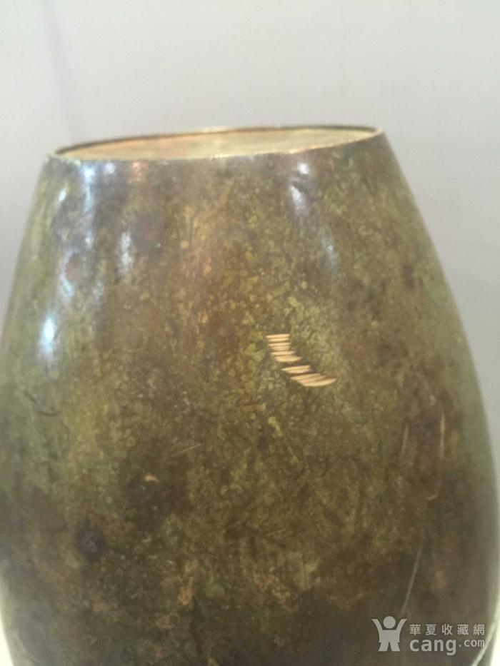 龙凤纹铜橄榄尊图8