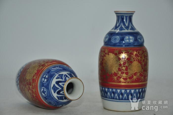 日本九谷陶源酒具图5