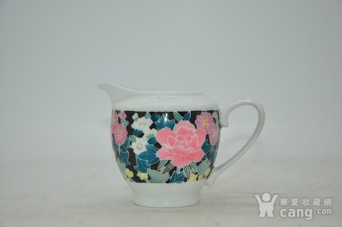 90年代醴陵釉下彩瓷壶图1