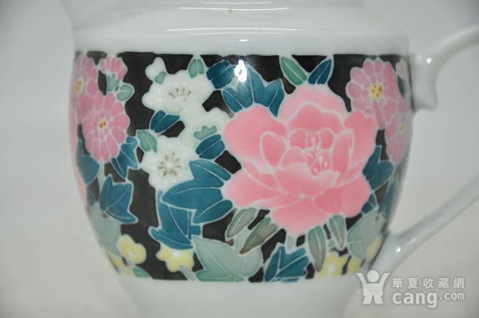 90年代醴陵釉下彩瓷壶图2