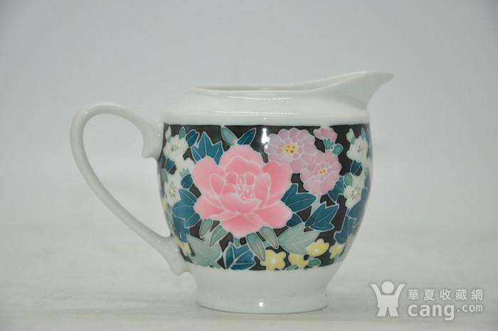 90年代醴陵釉下彩瓷壶图3