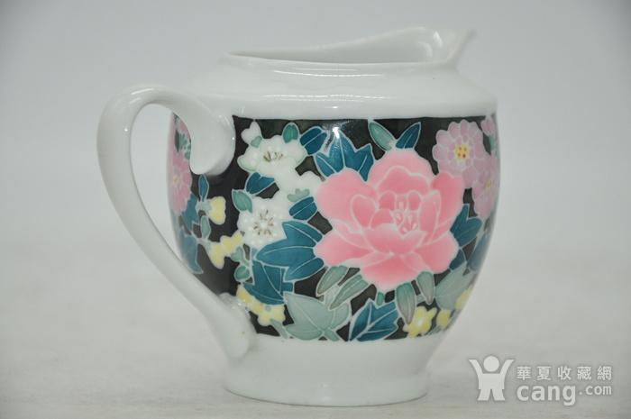 90年代醴陵釉下彩瓷壶图5