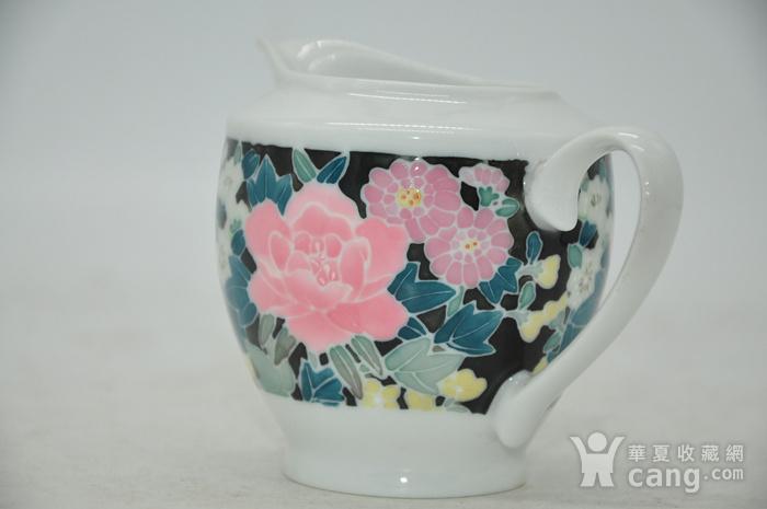 90年代醴陵釉下彩瓷壶图6