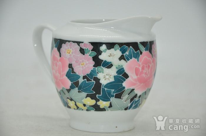 90年代醴陵釉下彩瓷壶图7