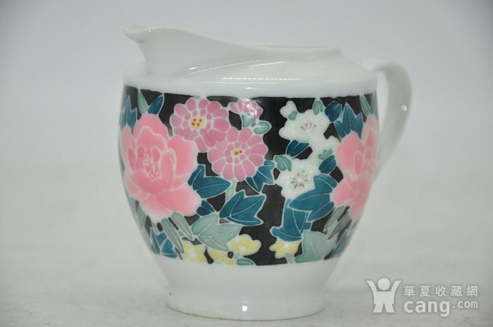 90年代醴陵釉下彩瓷壶图8