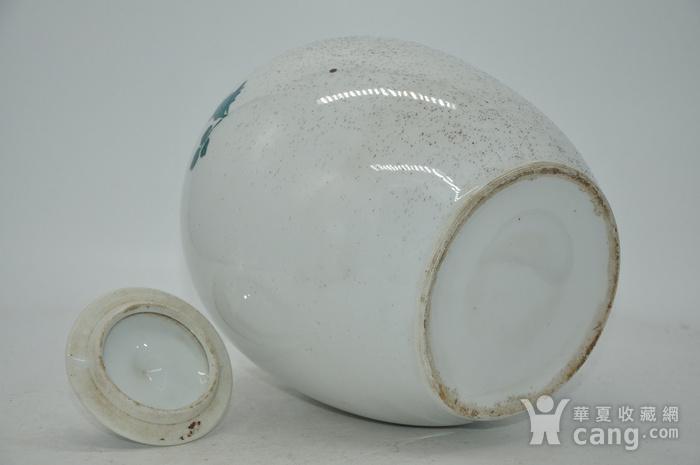 几十年醴陵釉下彩贴花瓷罐图10