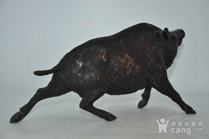 日本铸造几十年铜野猪图5