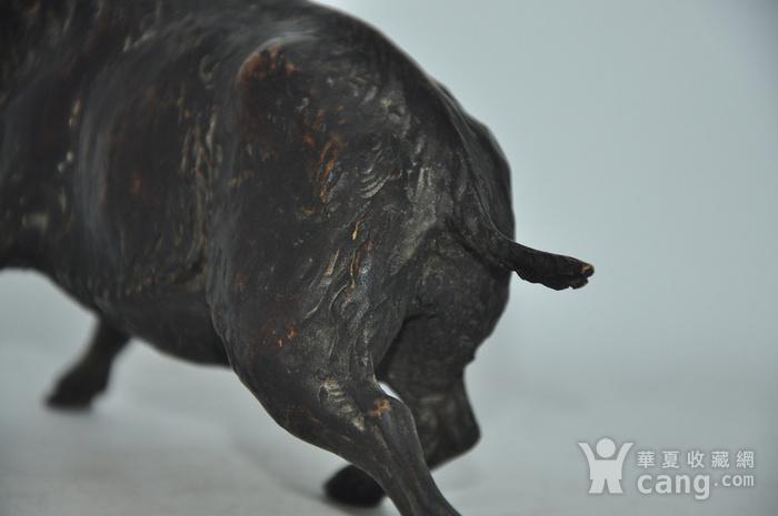 日本铸造几十年铜野猪图9