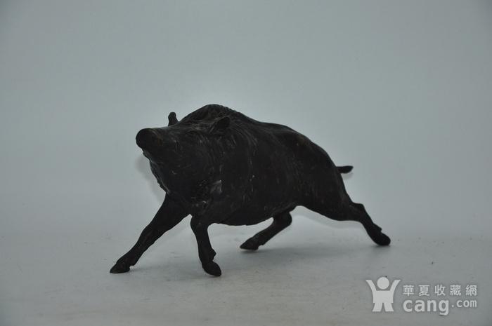 日本铸造几十年铜野猪图2