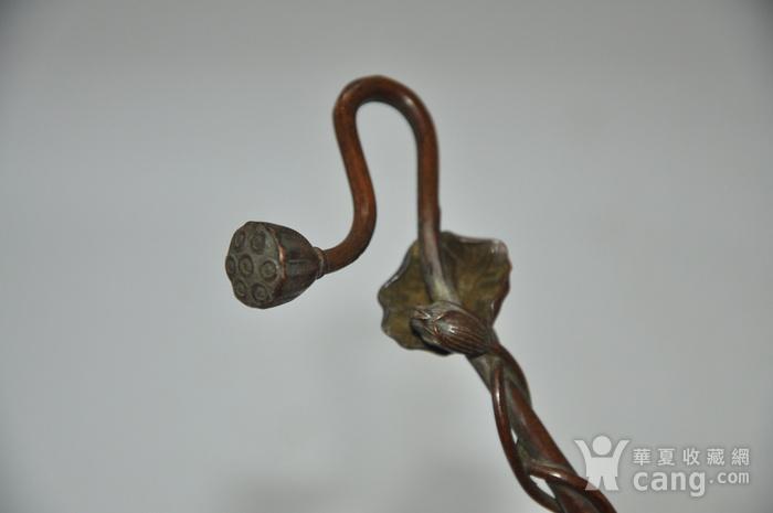 日本纯铜茶道香道用具图5