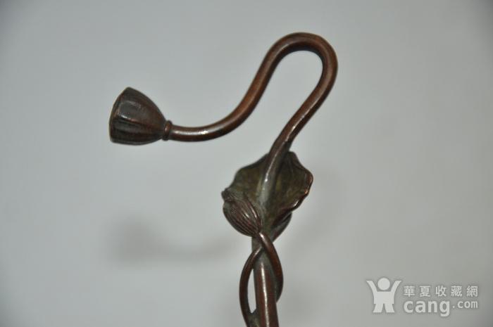 日本纯铜茶道香道用具图12