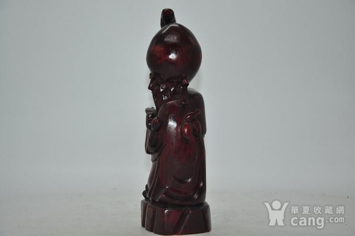 木雕寿星老图4